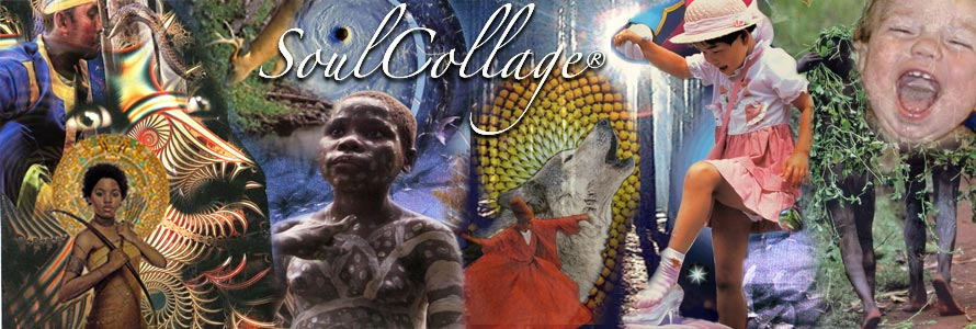 soul collage graphic by beth marcil